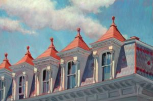Confederate Dormers - oil  30'' x 20''  $2,200