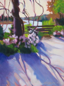"Easter on the Ashley - Oil  6"" x 8""  $350"