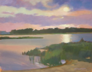 Gerard Point Sunset - SOLD