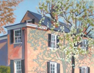 'Spring Bloom on Anson St. -  SOLD